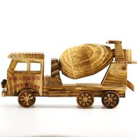 Wholesale Army Toy Trucks - Wooden Transport Mixer Diecast Car Kit Classical Truck For Children Or Family Decoration Of Big Truck Of Chinese Army