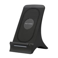 Wholesale fans heating for sale - Group buy S550 Universal V A Wireless Fast Charger With Fan Heat Dissipation For iPhone X Plus s8 Quick Charging Stand