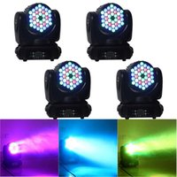 Wholesale Dmx Led Wash Lights - New LED Stage Light 4in1 RGBW 36*3W LED Moving Head Lamp Beam Wash Light American DJ Light DMX IN&OUT Stage Lighting
