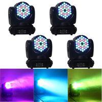 dj led yıkama toptan satış-Yeni LED Sahne Işık 4in1 RGBW 36 * 3 W LED Hareketli Kafa Lambası Işın Yıkama Işık Amerikan DJ Işık DMX Sahne Aydınlatma