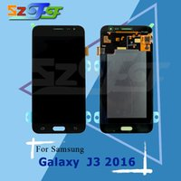 Wholesale Brightness Adjustment - For Samsung Galaxy J3 2016 J320A J320F J320M LCD Display with Touch Screen Digitizer Assembly without Brightness Adjustment Free Shipping