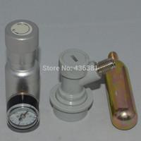 Wholesale Ball Kegs - Wholesale-Co2 Keg Charger kit with ball lock fitting,mini CO2 Regulator