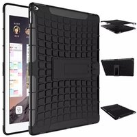 Wholesale ipad rugged heavy duty case for sale - Robot in KickStand Impact Rugged Heavy Duty TPU PC Hybrid Shock Proof Cover Case For ipad pro IPAD ipad pro