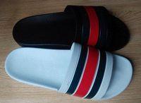Wholesale mens gladiators - 2018 NEW Europe Brand Fashion mens striped sandals causal Non-slip summer huaraches slippers flip flops slipper BEST QUALITY