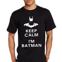 Wholesale Bane Mask Batman - Wholesale-Batman Dark Knight Evil Rising Bane Mask Tshirts Men Fashion New Design T Shirts Casual Cotton Summer Tees T-shirts