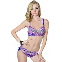 Wholesale Cheap Plus Size Bikini S - 2016 Newest Cheap Halter sexy Beach Bikini Skimpy Comfortable Affinity Skin Plus Size Nylon Women's swimwear