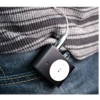 Wholesale Hidden Video Clips - Wholesale Mini Clip Spy MP3 Camera MP3 Player Style Hidden DVR Digital Video Camera 30pcs lot