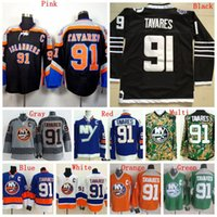 Wholesale Sewing Cotton Discount - Factory Outlet, Discount Mens New York Islanders Jerseys #91 John Tavares Ice Hockey Jersey,Accept Retail And Mixed Orders,100% Sewing Logos