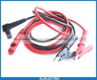 Wholesale Multimeter Probes Hook - Multimeter Probes Banana Plug to Hook Test Clip Cable
