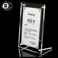 Wholesale Plexiglass Can - acrylic plexiglass photo frame 7 inches 215x165mm european creative Have many different size inventory anc can customize any size