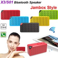 Classique OY X3 Mini Bluetooth Wireless Speaker Portable Batterie rechargeable parleur subwoofer mains libres musique MP3 MP4 Player avec MIC TF
