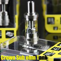 Wholesale tfv4 coils clone - UWELL CROWN Sub Ohm Tank 4ml Temperature control Duall coils 0.2ohm 0.5ohm clone VS Arctic Herakles Zephyrus Starre TFV4 Trion atomizer RDA