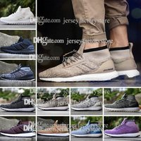 Wholesale Real Low Cheap - Cheap UltraBoost ATR Mid Oreo S82036 Running Shoes Real Boost Endiess Energy Sneakers for Mens Ultra Boost Grey CG3000 Burgundy Oreo 36-45