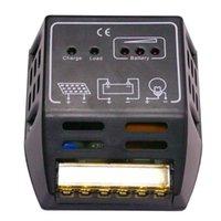 Wholesale 12v Solar Powered Regulator - 20A Solar Controller LED CMP12 12V 24V 240W Solar Cells Panel Charger Controller Power Regulator 12 24V controler charger A3*