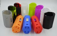 Wholesale Silica Bag - RX 200W Silicone Case Silicon Cases Bag Colorful Rubber Sleeve Protective Cover Silica Gel Skin VS Istick IPV Subox Nano Nebox Kit