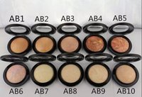 Wholesale Mineralize Skinfinish Foundation - New Hot Makeup Mineralize Skinfinish Powder Foundation 10g All English Name 10 Colors Soft and Gentle
