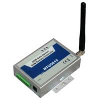puertas de control remoto al por mayor-RTU5015 Operador automático de apertura de puerta GSM con control remoto SMS / controlador de acceso GSM Gate (1 salida / 2 entradas)