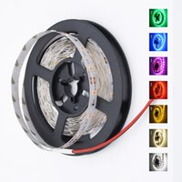 Wholesale Led Strip Light Pack - 5m Pack Waterproof LED Strip light 5m Garland Gaskets SMD 2835 Brighter Than 3528 DC 12V 300LEDs Home Christmas Party Wire Tape