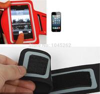 мобильные телефоны высокого качества оптовых-Wholesale-2015 High quality Gym Jogging mobile Phone Arm Band Case holder cover wallet bags for  Lumia 520 525 FREE SHIPPING