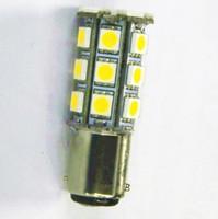 Wholesale 12v Bulb 1142 - Wholesale-2 X BA15D 1142 1076 1178 1130 RV Boat LED Light Bulb 280 LM Warm White 12V