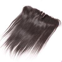 бурманские волосы remy body wave оптовых-13x2 кружева фронтальные шиньоны 8-20 дюймов бразильский наращивание волос уха до уха кружева фронтальная 3-полосная часть кружева закрытие шелк прямой 100% человека хай