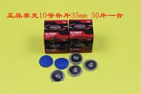 Wholesale-Tire Rubber Patches Patches Kleber Repair Tool Auto und Motorrad-Fahrrad-50 PC pro Behälter 35-mm-