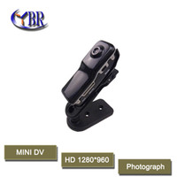Wholesale Bike Video Recorder - 2015 Multfunction mini DV Camcorder smallest DVR Spy Webcam Support 32GB SD CARD HD Sports Helmet Bike Motorbike Camera Video Audio Recorder