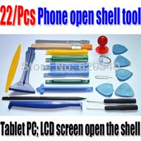 Wholesale Cell Repair Machines - new 22 in 1 Opening Tools Repair Tools Phone Disassemble Tools set Kit For iPhone iPad HTC Cell Phone Tablet PC order<$18no track