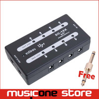 Wholesale Mini Electric Cables - Vitoos VP1 Multi Mini Power Supply 9V 18V for Guitar Effect Pedals 10 DC Cables Brand New fonte pedal With Free Connector MU0561