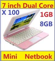 Wholesale Cheapest Wifi Laptop - Cheapest 7 inch Google Android 4.2 Dual core VIA 8880 Netbook Notebook with Camera HDMI 1GB 8GB MINI Laptop 100PCS Cheap sales world