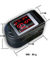 Wholesale Spo2 Monitor Prices - Lower price free shipping CE FDA approved New Fingertip Pulse Oximeter ah-50DL SPO2 Monitor Oxygen monitor six color + Silicon Rubber Case