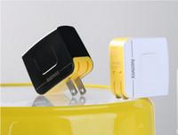 iphone 4s usb-wandaufladeeinheit großhandel-Original Remax 3.4A Schnellladung 12W Dual USB Power Adapter 1A Reise Ladegerät für iPhone 4 s 5 5 s 6 Plus iPad Air Galaxy S6 S5 Hinweis 4