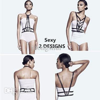 Wholesale Upper Body Harness - Wholesale-high street fashion adjustable leather body harness, studded cutout night out decorative bondage straps on upper body in black
