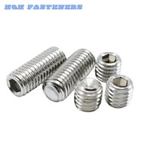 Wholesale Metric Threading Sets - M5 (Thread Dia. 5mm) A2 Stainless Steel Set Screws Hex Socket Grub Screws Metric