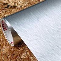 Wholesale Self Adhesive Foil Paper - Vinyl PVC Self Adhesive Gold Silver wall stickers home decor Waterproof Oilproof Washable Wallpaper roll Sticker for Kitchen Bathroom Furnit