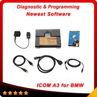 Wholesale Diagnostic Bmw Tools Isis - 2015 New Released Auto Professional Diagnostic Tools For BMW ICOM ISIS ISID A3+B+C For 3 IN 1 Programming &Diagnosis A3 DHL Free