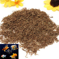 order tropical fish - New Arrival Freeze Dried Blood Worm Fresh Tropical Fish Discus Tetra Food Feeding order lt no track