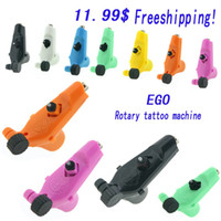 Wholesale Ego Tattoo - Ego Rotary Tattoo Machine Gun 7 Colors Available Light Weight Supply For Tattoos Machine Kits New Legend Free Shipping