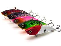 señuelos de vibración al por mayor-Señuelo biónico de la pesca Hundimiento vibración cebos duros modelo de ruido Bassbaits realista manivela Aparejos de pesca 6.5cm 11.5g