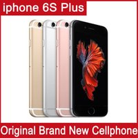 Wholesale Dual Cell Phone Free Shipping - DHL Free Shipping 100% Original screen Apple 4.7 inch iPhone 6S IOS 9 Dual Core 2GB RAM 16GB 64GB 128GB ROM 12MP Camera Unlocked Cell Phone