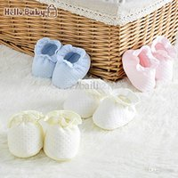Wholesale Chevron Baby Girl Shoes - 2015 HelloBaby baby booties chevron bib newborn baby care baby bib girl feet thick shoes 0-6 months baby supplies