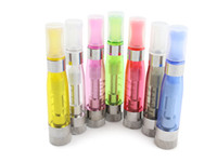 Wholesale Ego Clearomizer Wickless - HOT CE5 Atomizer Wickless eGo Thread 2.4ohm 7 Colors vaporizer for eGo Serial e Cigarette Electronic clearomizer DHL Free