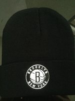 Wholesale-100% Acryl Unisex Hiphop Beanies für Winterthermal Hats Customized DIY Beanies Brooklyn Entwurf