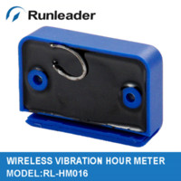 Wholesale Vibration wireless hour meter for lawn mower tractor cleaner free phone