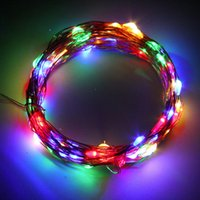 Atacado- 10M 100LED Copper Wire Xmas Casamento String Fairy Light Lamp Battery Operated Worldwide store