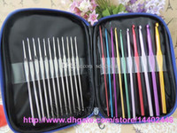 Wholesale Crochet Unique Fashion - 30pcs Precious Durable Crochet Hook Needles Popular Fashion Crochet Needle Sets Aluminum Material Unique Design Hot Sale