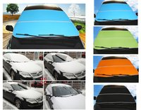 Wholesale Cars Windshield Shade - New Upgrade Car Windshield Snow Blocked Sun Shade Anti-UV Covers Reflective Foil For SUV And Ordinary Car