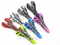 Wholesale Time Mtb - Newest TIME Mountain bike 3K full carbon fibre saddle carbon bicycle saddle Road carbon seat MTB bike parts 8 colors Free ship