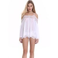 Wholesale Type Men Pajamas - erotic underwear pajamas Lingerie 2017 sexy hot Sex woman skirt female Intimate sex products for adults Lace transparent skirt