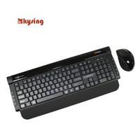 Wholesale Wireless Mouse China - Wholesale-100% Original Product China Famous Brand MOFII X300 Wireless Multimedia Keyboard & Optical Mouse Combo Set Free Shipping